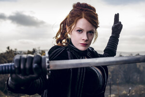 The Widow In Into The Badlands Wallpaper