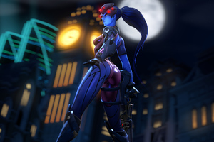 The Widowmaker 4k Wallpaper