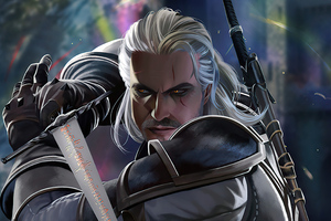 The Witcher 3 Geralt Of Rivia 5k Wallpaper
