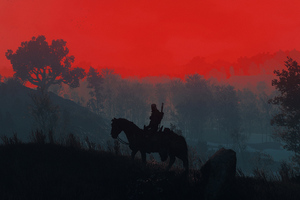 The Witcher 3 Geralt Silhouette