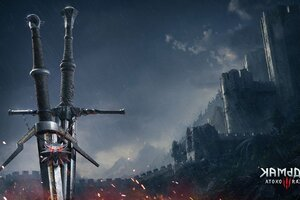 The Witcher 3 Sword Wallpaper