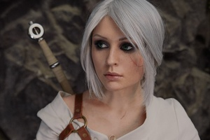 The Witcher 3 Wild Hunt Ciri Cosplay 4k Wallpaper