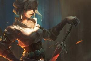 The Witcher 3 Wild Hunt Ciri Fantasy Girl Wallpaper
