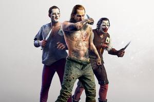The Witcher 3 Wild Hunt Joker Gang 4K