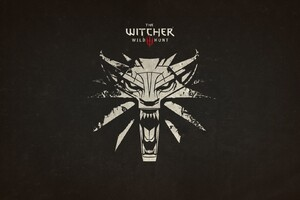The Witcher 3 Wild Hunt Logo Wallpaper