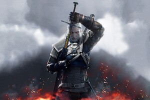 The Witcher 3 Wild Hunt Sword Of Destiny Wallpaper