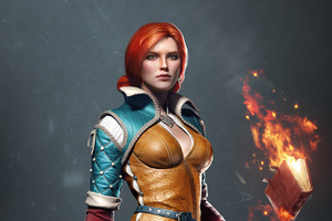 The Witcher 3 Wild Hunt Triss 4k Wallpaper