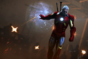 The Witcher As Iron Man 4k