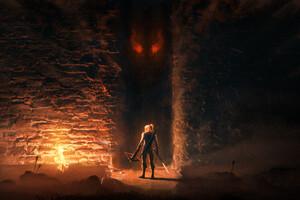The Witcher Geralt Of Rivia 4k Wallpaper