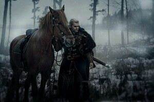 The Witcher Geralt of Rivia Cosplay Wallpaper