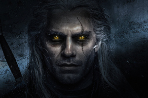 The Witcher Henry Cavill 4k Tv Series Wallpaper