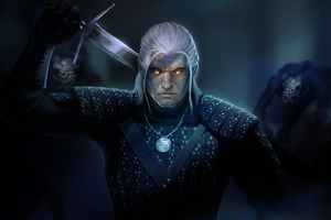The Witcher Tv Show Art