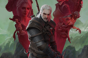 The Witcher Wild Hunt 4k 2020