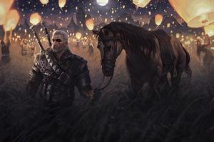 The Witcher Wild Hunt Autumn 4k Wallpaper
