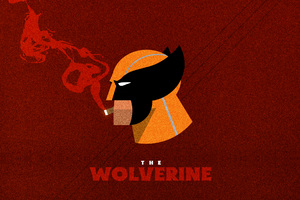 The Wolverine Artwork Wallpaper