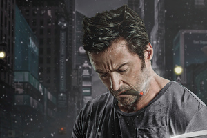 The Wolverine Claws Smoking 4k Wallpaper