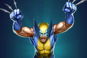 The Wolverine Marvel Artwork Wallpaper