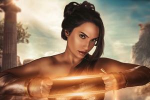 The Wonder Woman Cosplay 4k