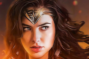 The Wonder Woman Fanart 4k