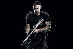 Theo James Four Insurgent Wallpaper