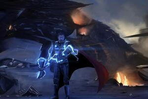 Thor 10k 2020 Wallpaper