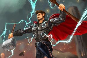 Thor 4k Art New