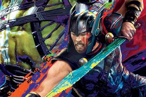 Thor 4k Art