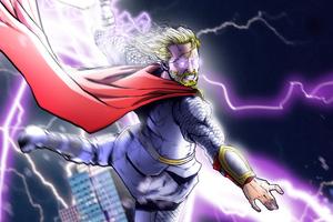 Thor 4k Arts Wallpaper