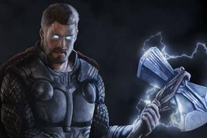 Thor 4k New Art Wallpaper