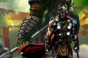 Thor 4k Ragnarok Wallpaper