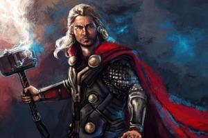 Thor 5k Art Wallpaper