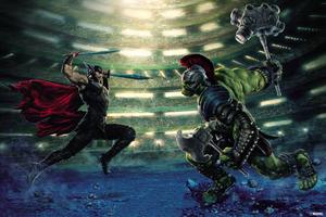 Thor And Hulk Wallpaper