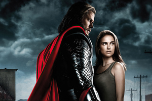 Thor And Jane Foster Wallpaper