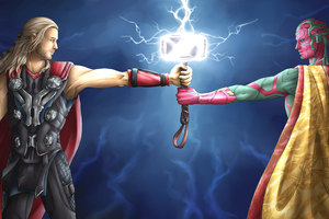 Thor And Vision