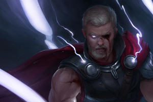 Thor Angry