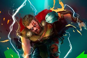 Thor Art Hd Wallpaper