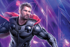 Thor Avengers 4k Wallpaper