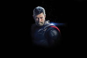 Thor Avengers Endgame Arts Wallpaper