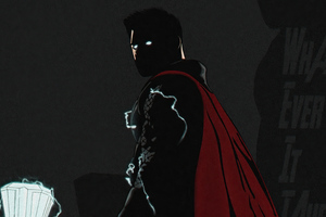 Thor Avengers Endgame Minimal 4k Wallpaper