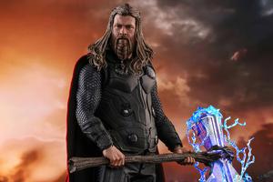 Thor Avengers Endgame Thunder