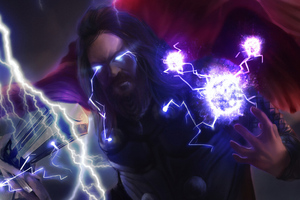 Thor Bearded Wallpaper