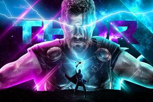 Thor Behance Art Wallpaper