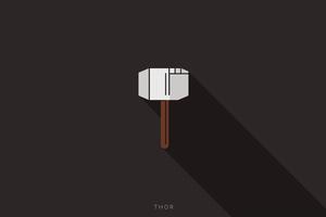 Thor Calligraphy 4k