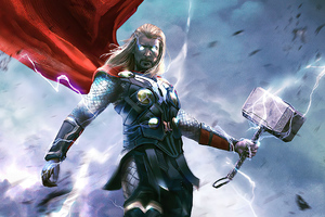 Thor Coming 2020 Wallpaper