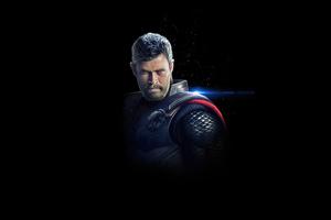 Thor Dark 4k Wallpaper