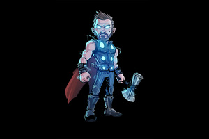 Thor Glowing Artwork
