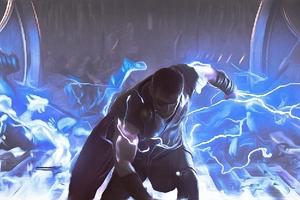 Thor God Of Thunder 4K Art Wallpaper