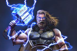 Thor God Of Thunder 5k Wallpaper