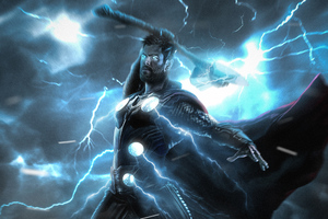 Thor God Of Thunder Art