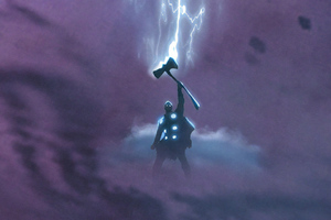 Thor God Of Thunder New Art Wallpaper